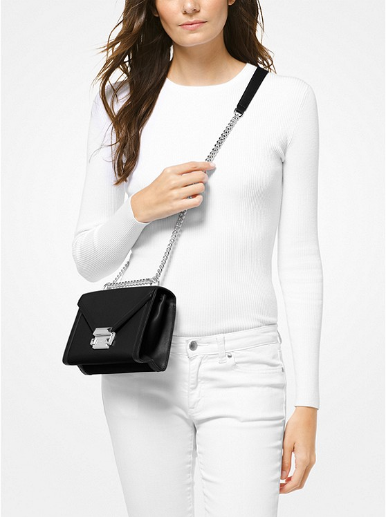 e136569631cd The Whitney Small Leather Shoulder Bag from MICHAEL KORS – Today's ...