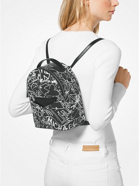 a7692b98c936 Jessa Small Graffiti Leather Convertible Backpack fromMICHAEL KORS ...