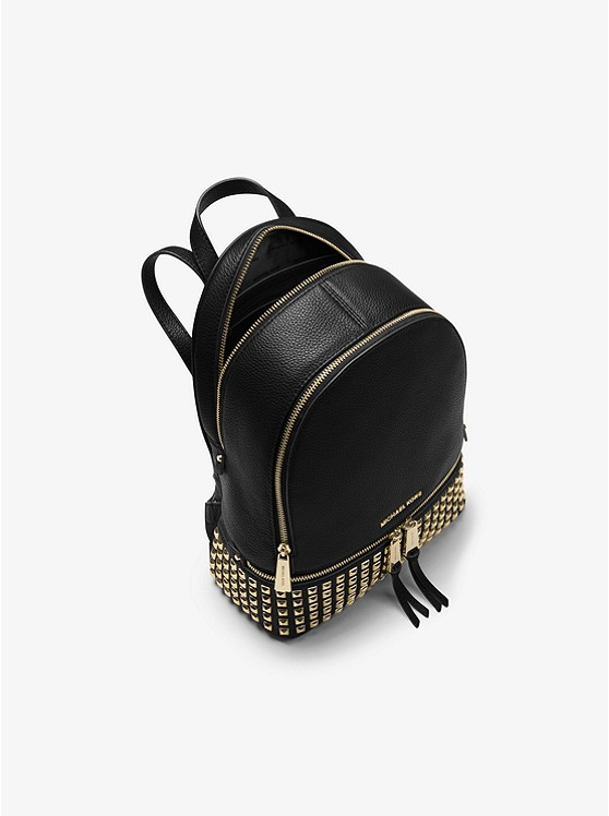 ff134cc2bdc729 ... best price michael kors rhea medium studded leather backpack db4ef a5799