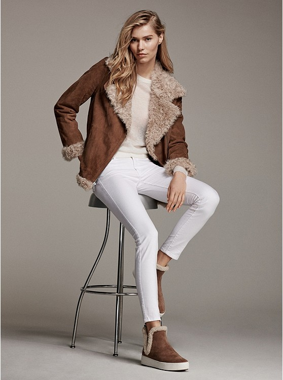 5d90c4629d7 Michael Kors Suede and Shearling Moto Jacket – Today s Fashion Item