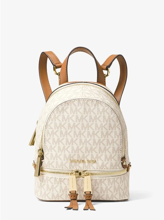 38921ce01ea4 MICHAEL KORS Rhea Mini Logo Backpack – Today's Fashion Item